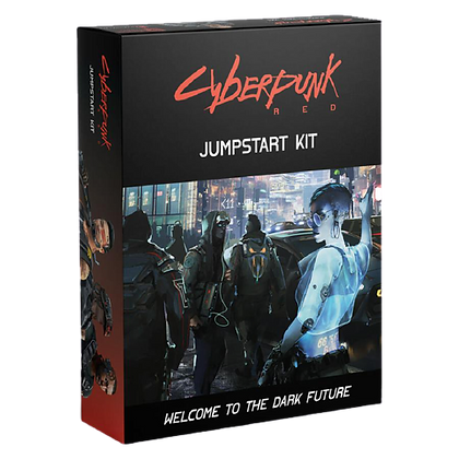 Cyberpunk Red RPG Jumpstart Kit