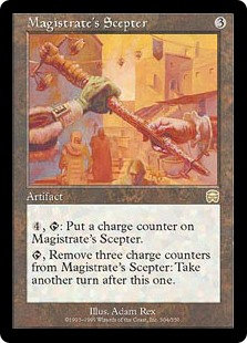 Magistrate's Scepter (Mercadian Masques)