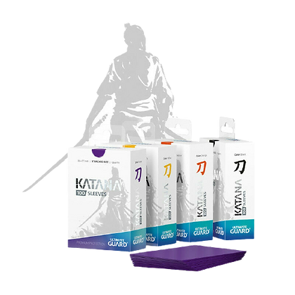 Katana - Ultimate Guard 100 pack sleeves
