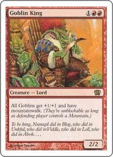 Goblin King (Eighth Edition)