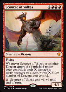 Scourge of Valkas (Commander 2017)