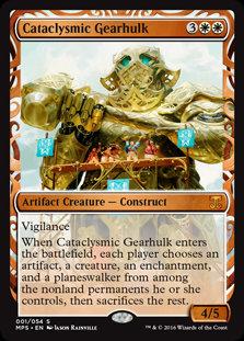 Cataclysmic Gearhulk (Masterpiece)