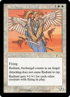 Radiant, Archangel (Urza's Legacy)