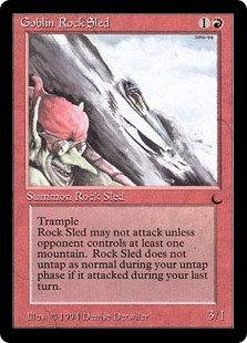 Goblin Rock Sled (The Dark)