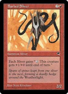Barbed Sliver (Tempest)