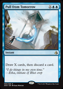 Pull from Tomorrow (Amonkhet)