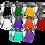 Thumbnail: Katana - Ultimate Guard 100 pack sleeves