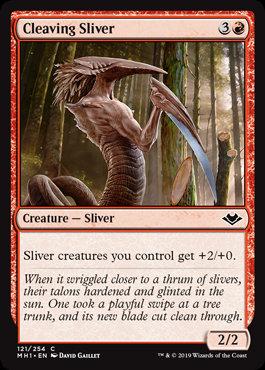 Cleaving Sliver (Modern Horizons)