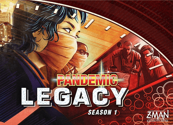Pandemic Legacy - Red Edition
