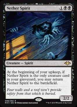 Nether Spirit (Modern Horizons)