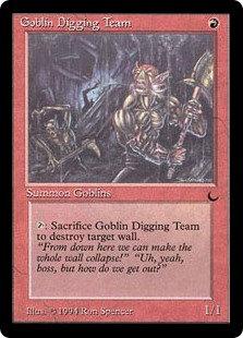Goblin Digging Team (The Dark)