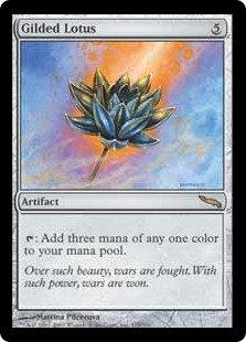 Gilded Lotus (Mirrodin)