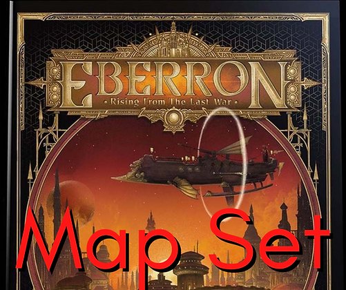 D&D Map - Eberron Map Set