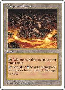 Karplusan Forest (Fifth Edition)