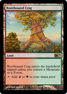 Rootbound Crag (Core Set 2013)