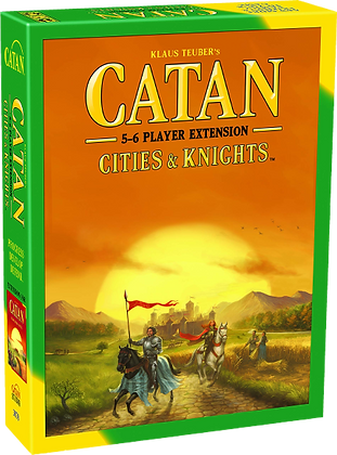 Catan - Cities & Knights (5-6 Player Extension)