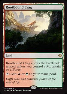 Rootbound Crag (Ixalan)