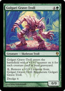 Golgari Grave-Troll (Duel Decks - Izzet vs Golgari)
