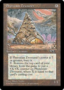 Phyrexian Devourer (Alliances)
