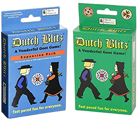 Dutch Blitz Green & Blue