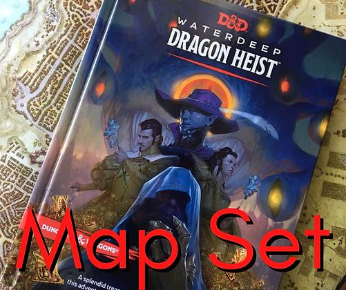 D&D Map - Waterdeep Dragon Heist Map