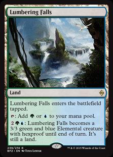Lumbering Falls (Battle for Zendikar)