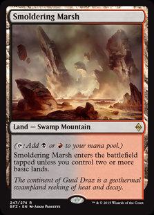 Smoldering Marsh (Battle for Zendikar)