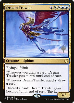 Dream Trawler (Stamped / Theros Beyond Death)