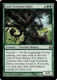 Leaf-Crowned Elder (Morningtide)