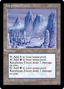 Karplusan Forest (Ice Age)