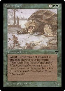 Giant Turtle (Legends)