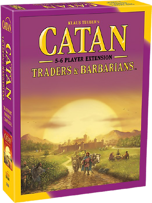 Catan - Traders & Barbarians (5-6 Player Extension)