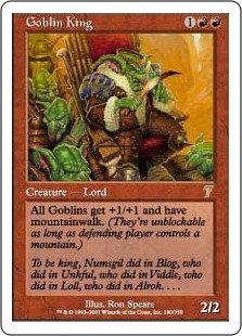 Goblin King (Seventh Edition)