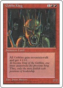 Goblin King (Fourth Edition)