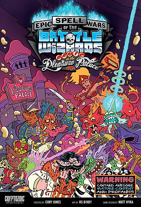 Epic Spell Wars of the Battle Wizards - Panic at the Pleasure Palace