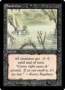 Marsh Gas (The Dark)