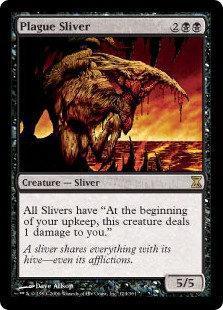 Plague Sliver (Time Spiral)