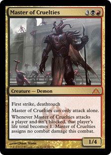 Master of Cruelties (Dragon's Maze)