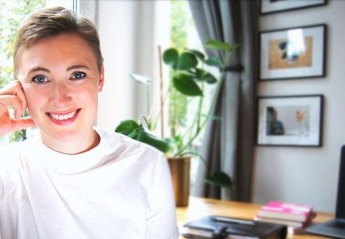 Martha Leverkus in ihrem Büro in Köln