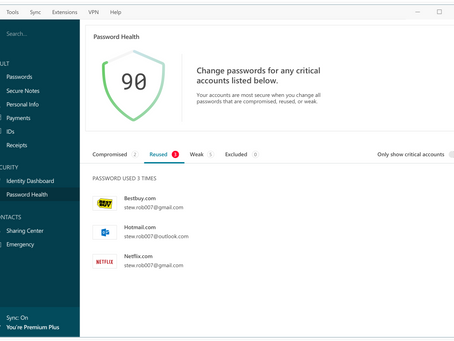 Protect your passwords with Dashlane