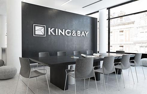 King & Bay Office Signage
