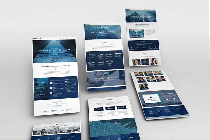 King & Bay Responsive Website Design