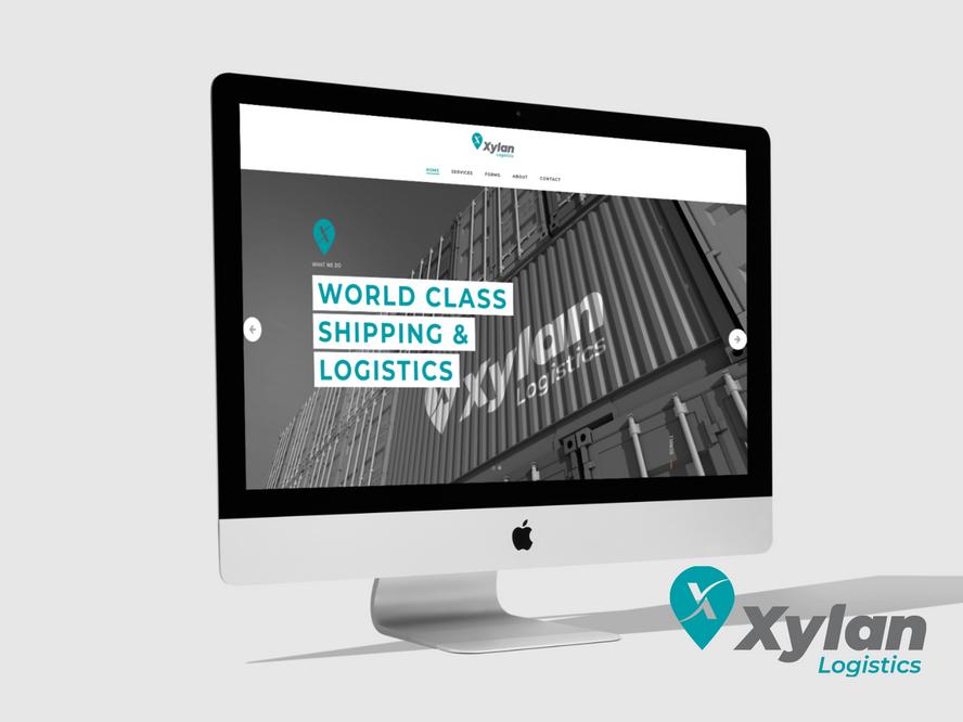 Xylan Website Design