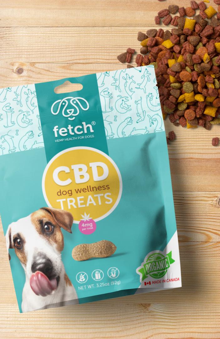 Pet Treats Logo Branding and Packaging