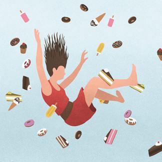 Femke over purging anorexia: ''Bij een eetstoornis is alles 'stiekem', je liegt iedereen voor''