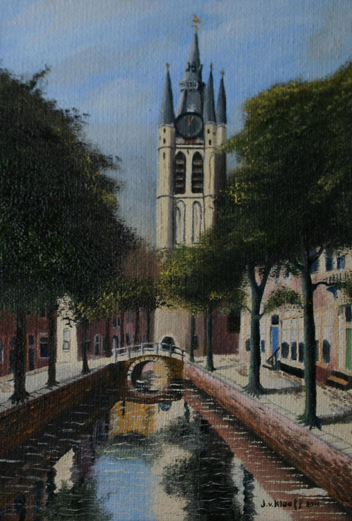 Delft oude kerk