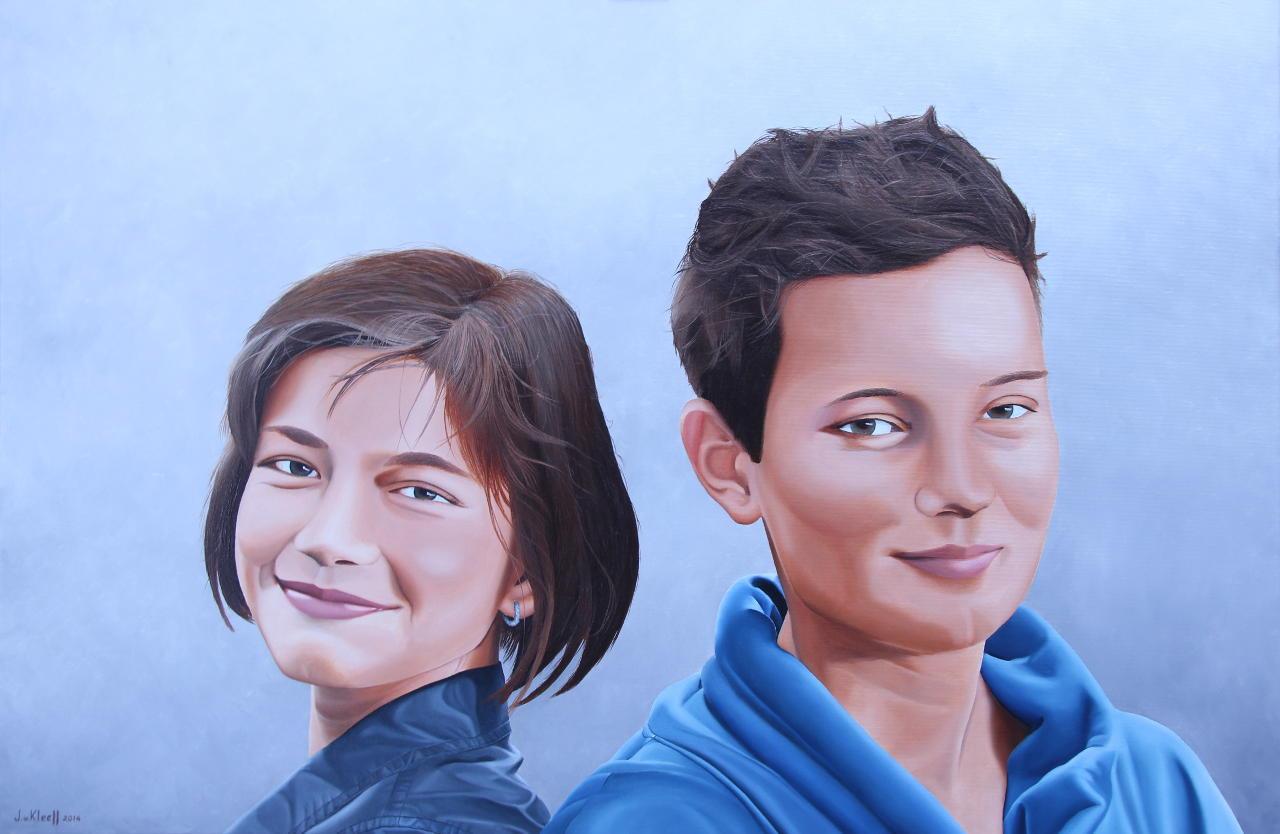 Helmig en Maureen