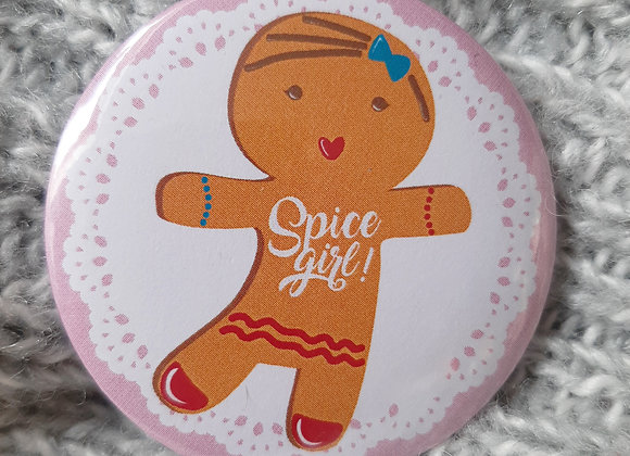 "Badge ""Spice girl """