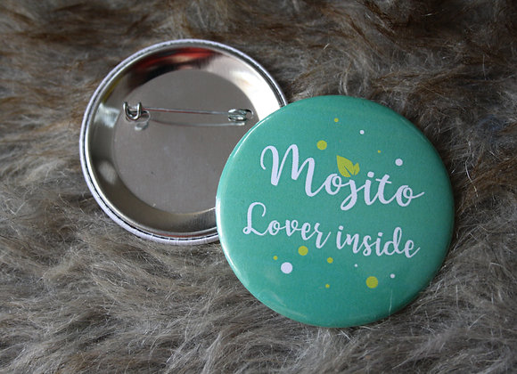 "Badge ""Mojito"" 58mm"
