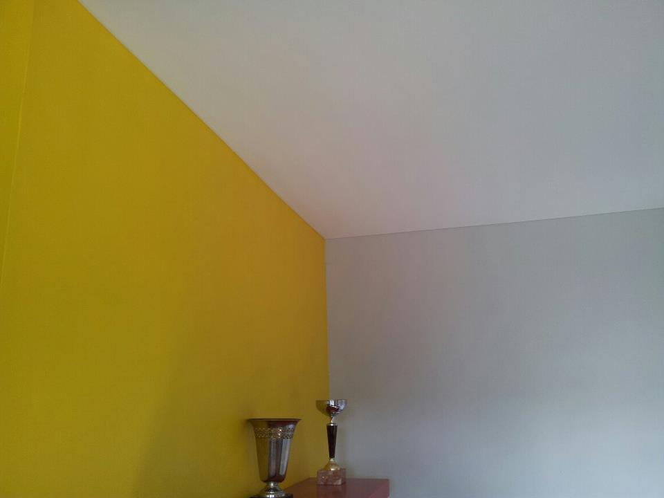 pose plafond tendu blanc mat